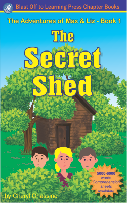 The Secret Shed - Chapter Book for Dyslexia