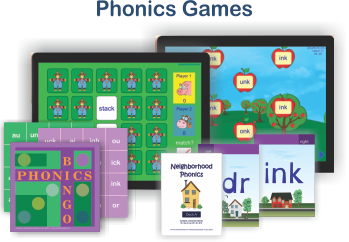 Games, books and apps!