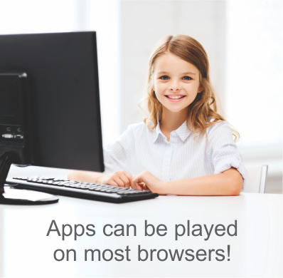Phonics games for dyslexia can be played on most browsers, www.BlastOffToLearningPress.com.