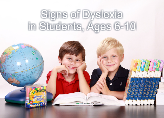 signs of dyslexia in children